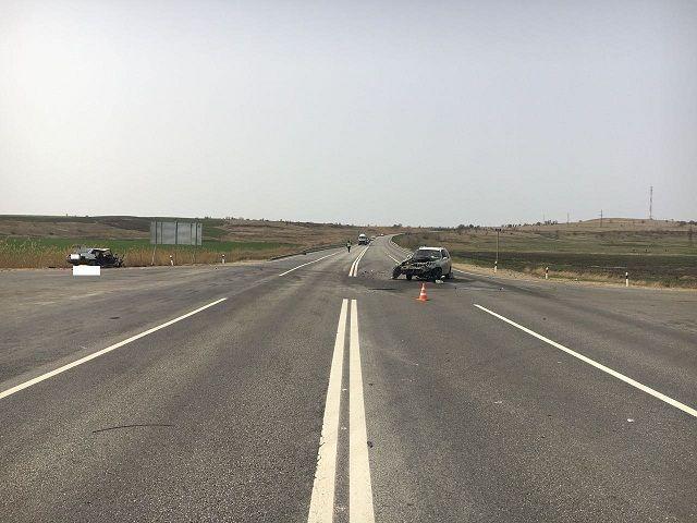 В интернете появилось видео аварии в Петровском округе
