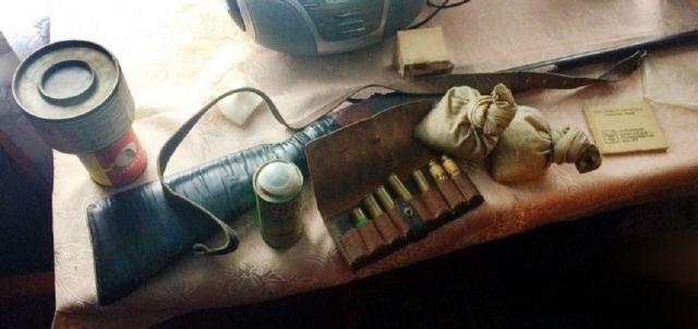 В Ставропольском крае выявлен факт незаконного хранения оружия и боеприпасов