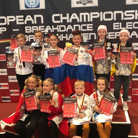 Паппинг-дуэт из Ставрополя стал чемпионом Европы
