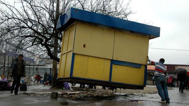 В Ставрополе демонтировано свыше 600 нестационарных торговых объектов