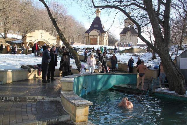В Ставрополе официально определены три места для крещенских купаний