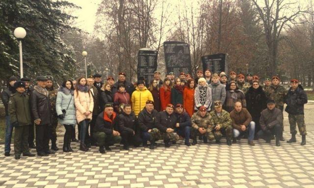 НаСтаврополье открыли мемориалпогибшим защитникам правопорядка