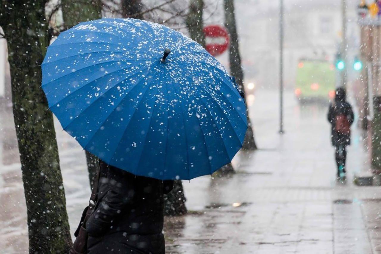 В эти выходные на Ставрополье прогнозируются дождь и мокрый снег