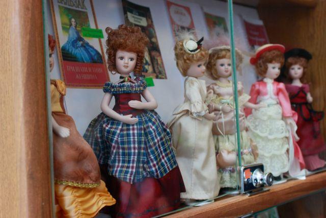 В Ставрополе открылась выставка кукол