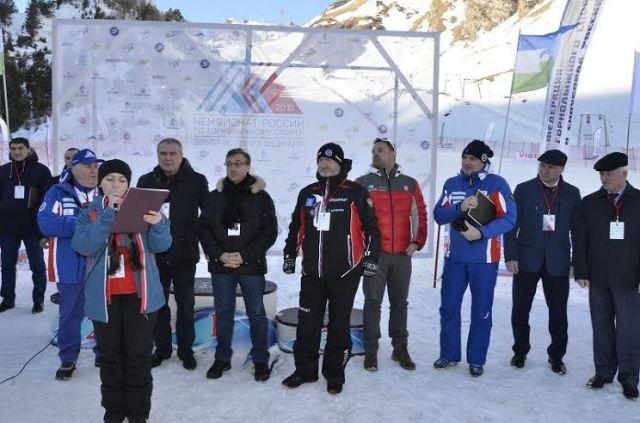 В Приэльбрусье открылся чемпионат России по горнолыжному спорту