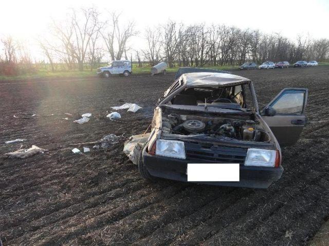 На Ставрополье перевернулась легковушка, погиб 60-летний водитель
