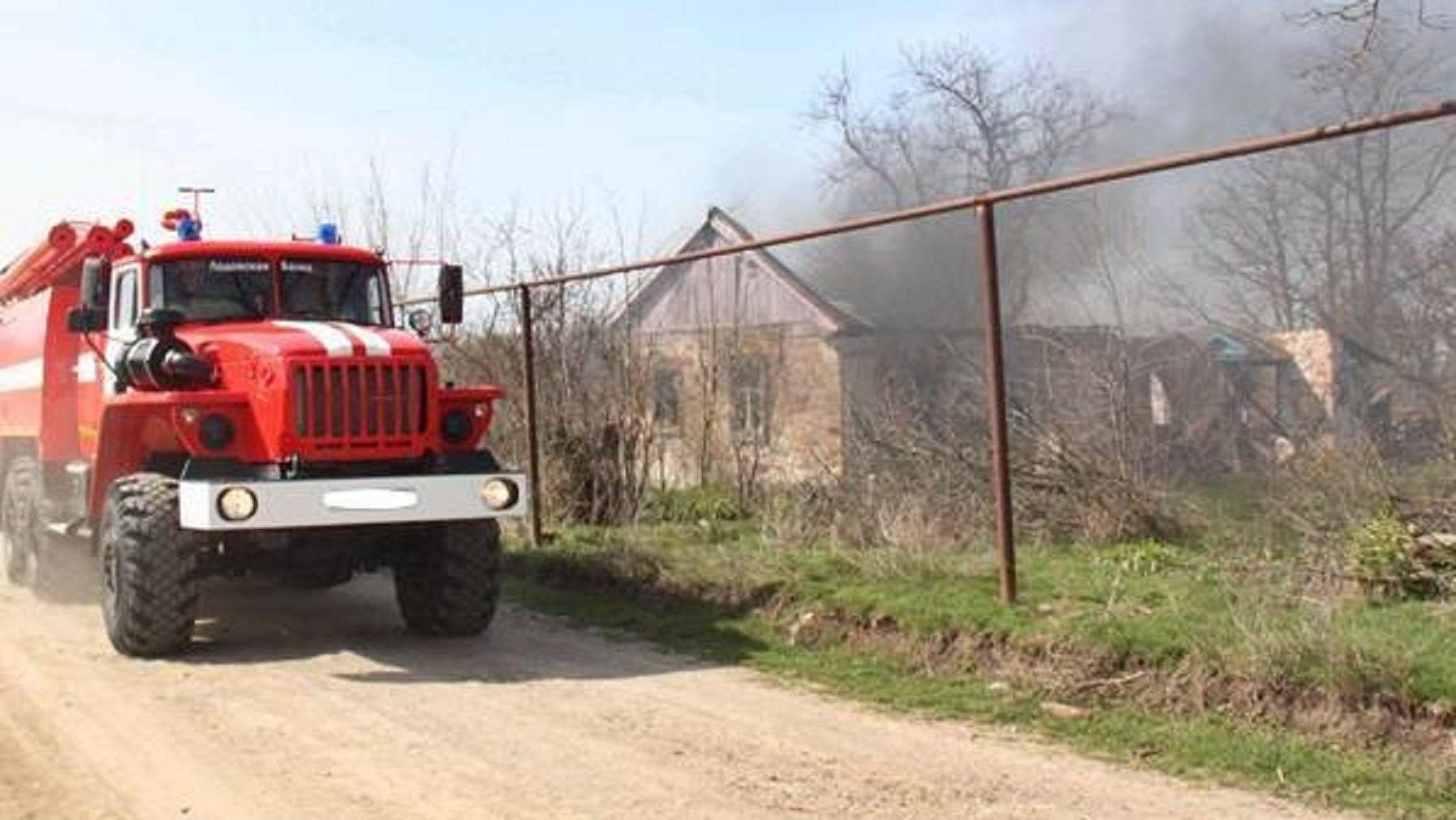 НаСтаврополье вовремя пожара в личном доме погибли двое мужчин