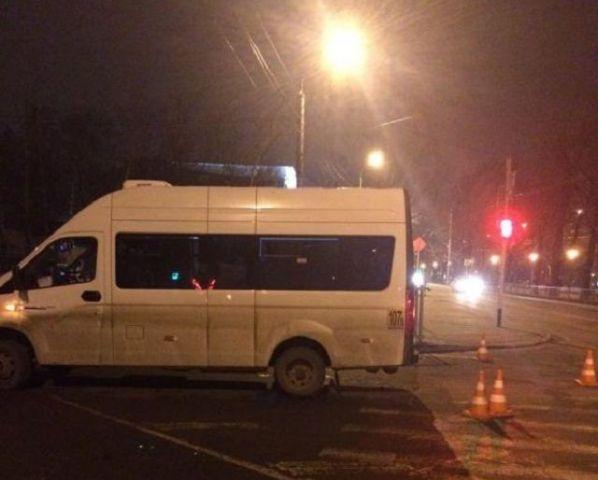 В Ставрополе водитель маршрутки сбил пешехода