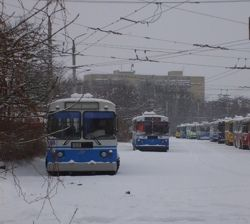Власти инициировали проверку активов троллейбусного парка