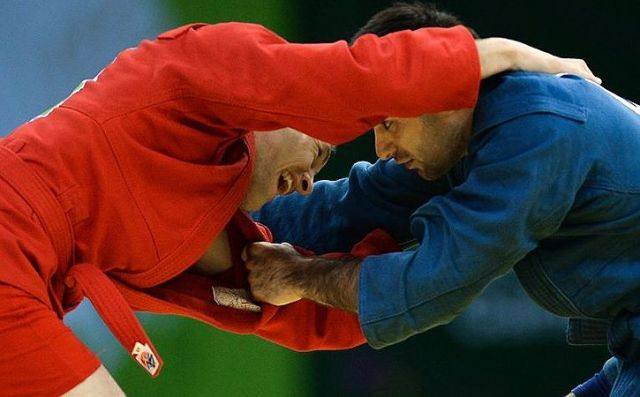 Ставрополец Азамат Сидаков стал чемпионом мира по самбо