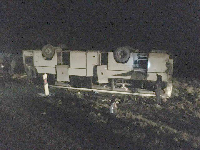На Ставрополье 6 человек пострадало в ДТП с рейсовым автобусом