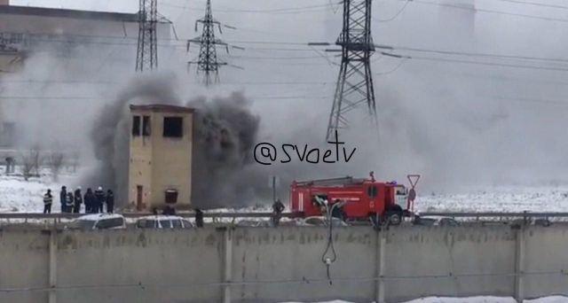 На кабель-канале между Невинномысской ГРЭС и предприятием «Невинномысский Азот» произошло возгорание