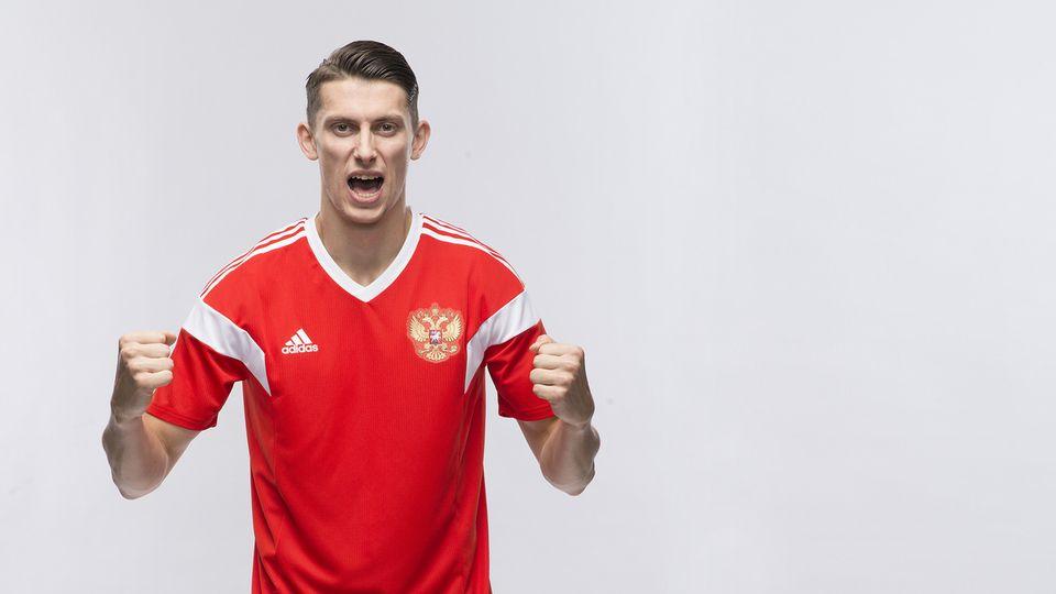 В стартовый состав сборной России по футболу попал Илья Кутепов