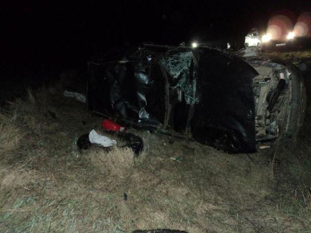 На Ставрополье перевернулась легковушка, погиб водитель