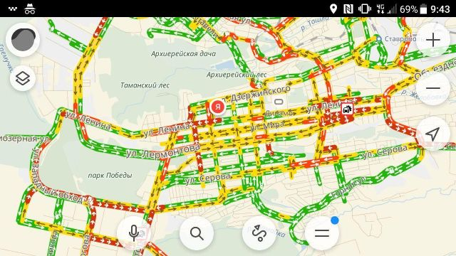 Из-за сильного снегопада на Ставрополье ограничили движение