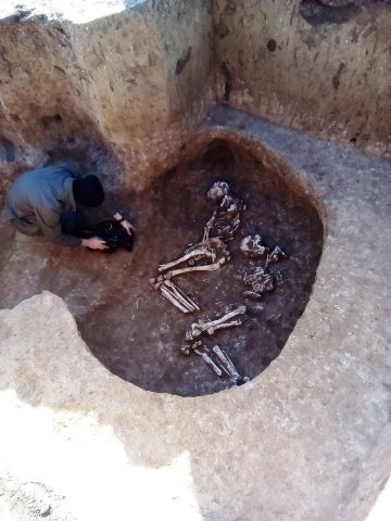 В Ставропольском крае археологи обнаружили древние захоронения