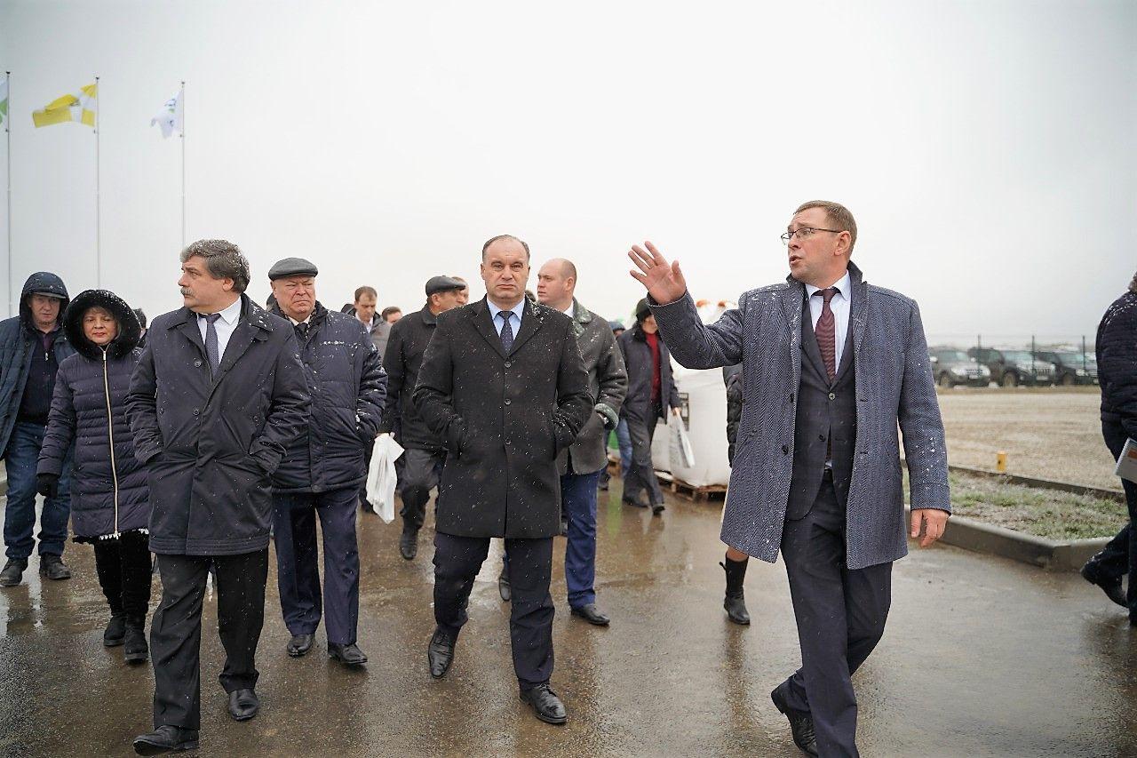 На Ставрополье состоялось совещание по первой азотной подкормке
