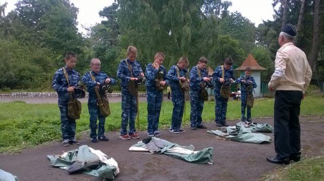 НаСтаврополье прошли кадетские военно-полевые сборы