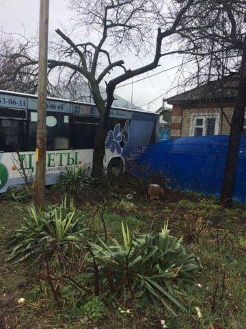 В Ставрополе пассажирка получила травмы после падения в автобусе