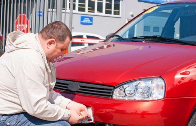 Регистрировать новые машины можно будет прямо в автосалонах