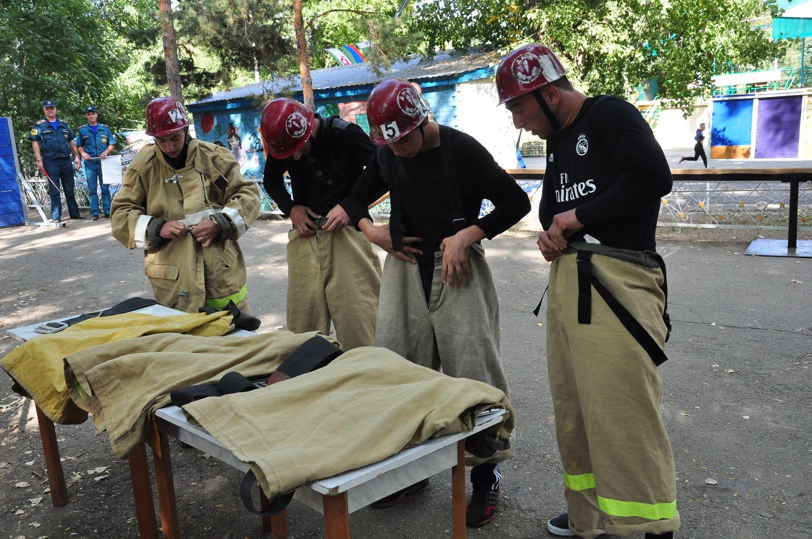 На Ставрополье стартовали соревнования «Юный спасатель» и «Юный пожарный» СКФО