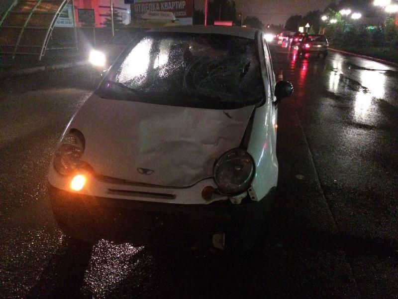 ВСтаврополе иностранная машина насмерть сбила пешехода-нарушителя