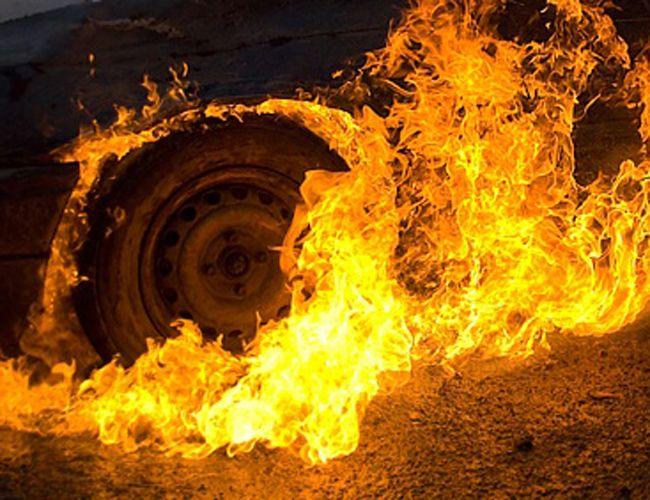 ВВоронежской области сгорел автобус, ехавший из столицы вСтаврополь