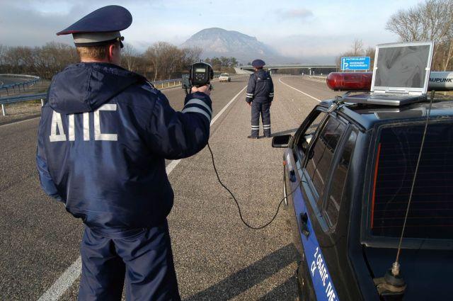 Скрытые патрули помогут выявить лихачей на федеральной трассе «Кавказ»