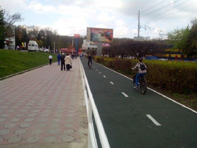 Велодорожку в Ставрополе сделают из мелкозернистого асфальта