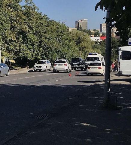 В Ставрополе на Киринском мосту сбили человека