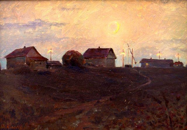 Краевой изомузей приглашает на выставку художника Сергея Клёнова