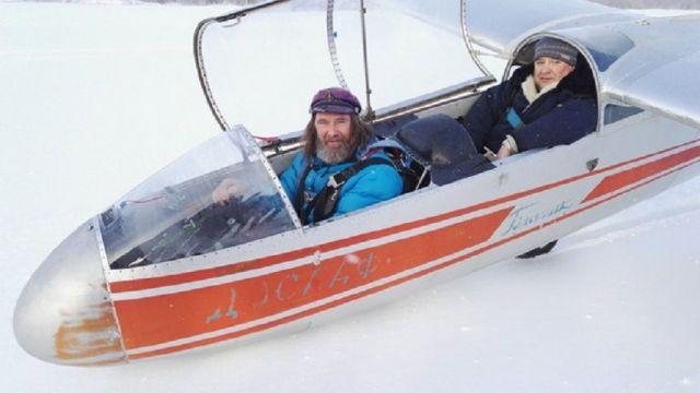 Фёдор Конюхов полетит из Кисловодска к горе Эльбрус