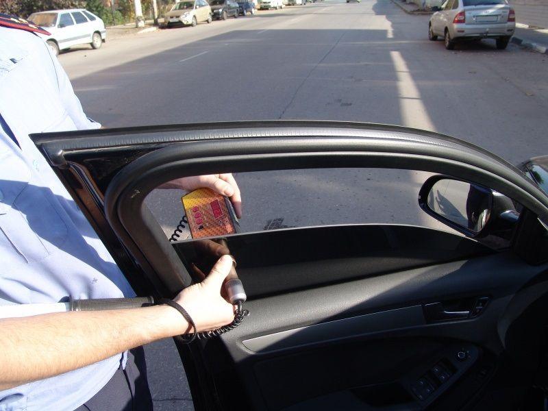 Затри дня наСтаврополье стонировкой стекол расстался 281 шофёр