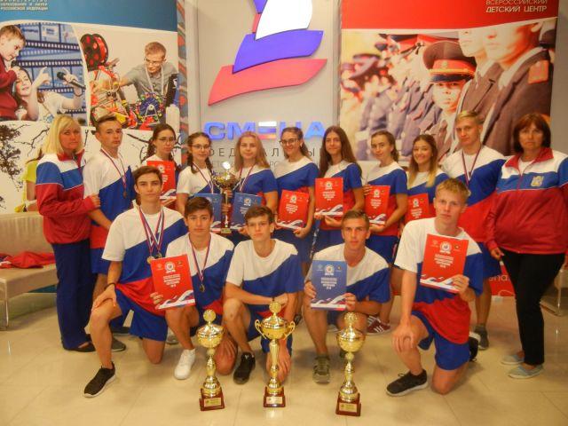 Школьники Ставрополья вернулись с «Президентских состязаний» с победами