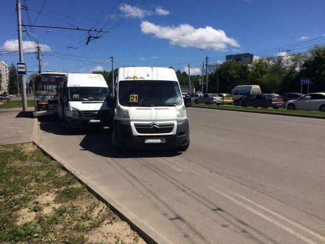 ДТП с тремя маршрутками произошло в Ставрополе