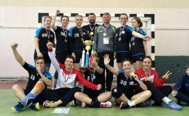 Ставропольские гандболистки стали чемпионками Всероссийской летней универсиады