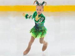 Семилетняя фигуристка из Ставрополя получила золотую медаль