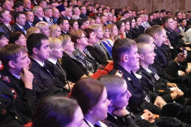 В Ставрополе состоялся праздничный концерт, посвящённый Дню сотрудника органов внутренних дел