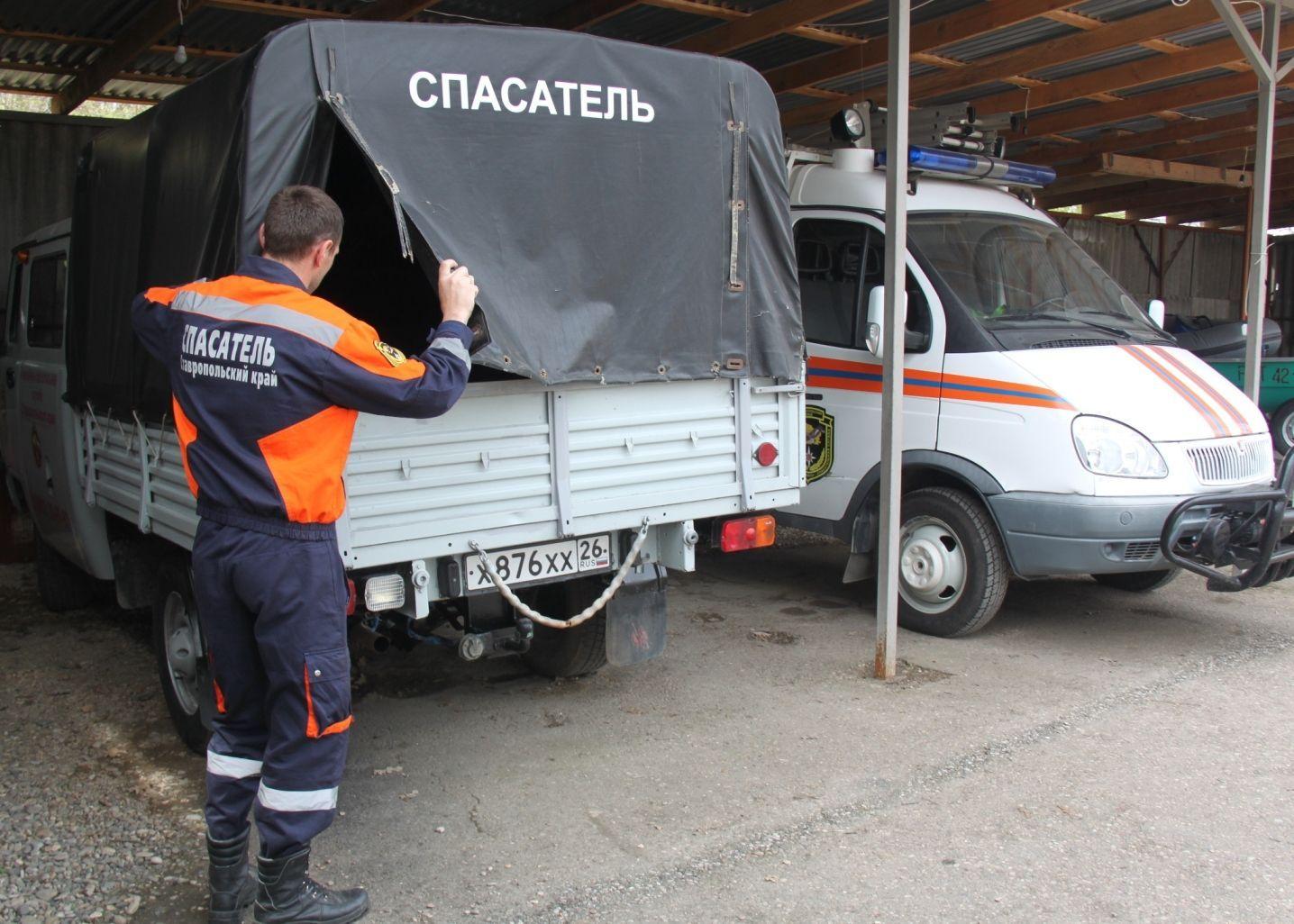 В Георгиевске спасатели помогли пожилому мужчине с травмой ноги