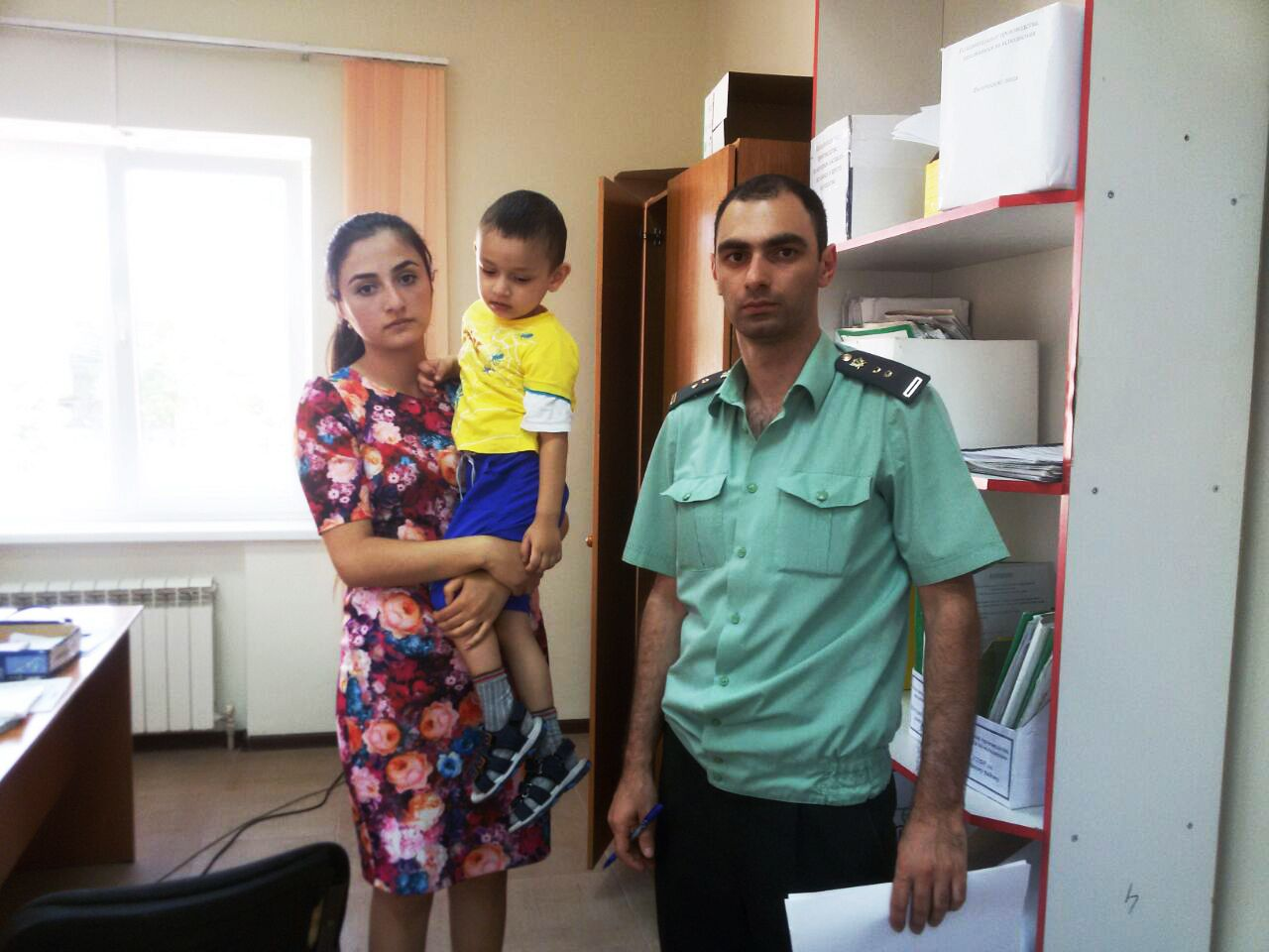 В Ставропольском крае судебные приставы вернули матери детей
