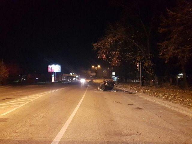 В Пятигорске ночные катания закончились серьёзной автоаварией