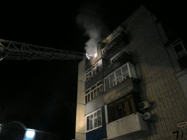 ВСтаврополе кпожару вмногоэтажке привела сигарета