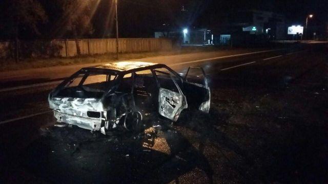 На Ставрополье в автомобиле взорвался газовый балон