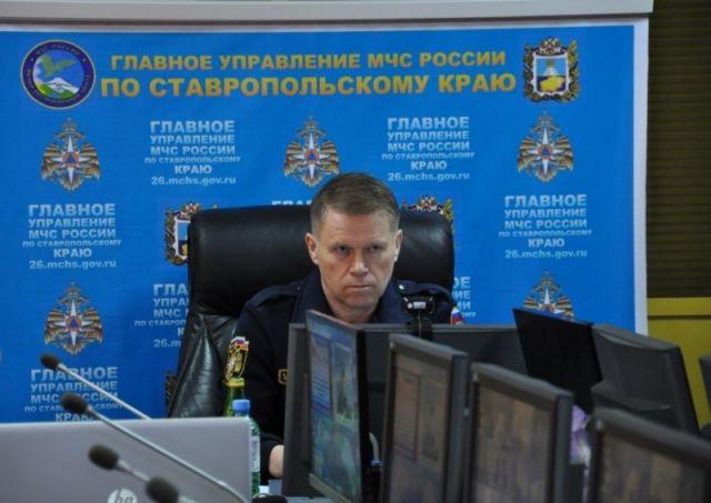 Заместитель министра МЧС посетил Ставропольский край с рабочим визитом