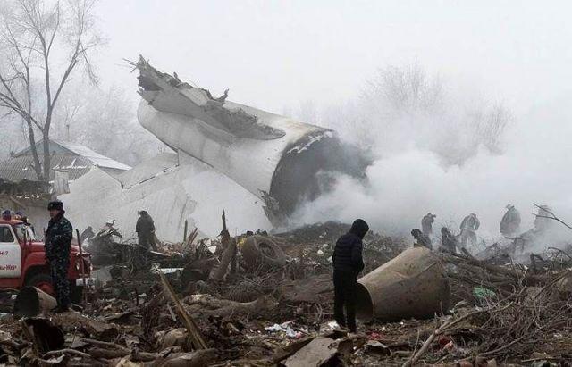 Владимир Владимиров выразил соболезнования в связи с крушением самолёта в Киргизии