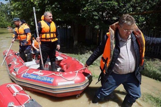 Губернатор выехал в Георгиевский округ для решения вопроса жительницы затопленного села
