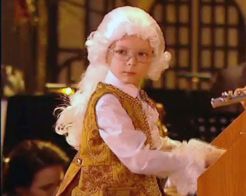 Ещё один юный пианист из Ставрополя покорил жюри конкурса талантов «Синяя птица»