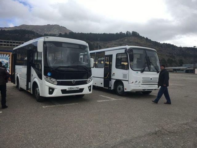 В Кисловодске прошла презентация новых моделей отечественных автобусов