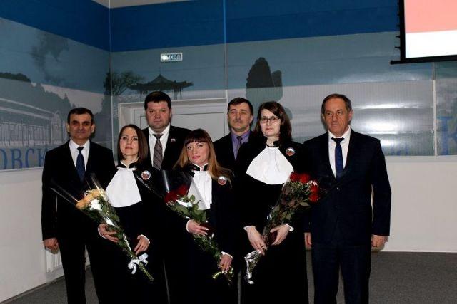 Трое новых мировых судей появились на Ставрополье