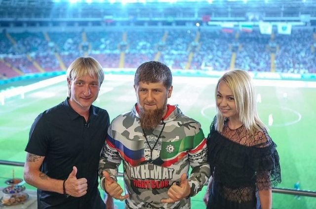 Евгений Плющенко исполнит нальду чеченскую лезгинку